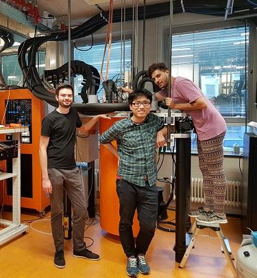 Majorana measurement team