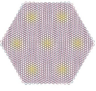 Magic angle graphene superlattice