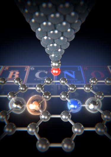 Distinguishing between B, C and N atoms