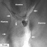 Nanotubes in alumina