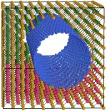 Embedded nanotube