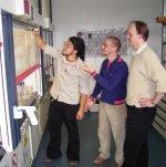 Microbe researchers