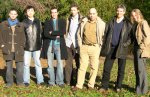 Researchers from the University of Bordeaux's nanophotonics group.