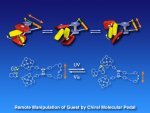 Chiral molecular pedal