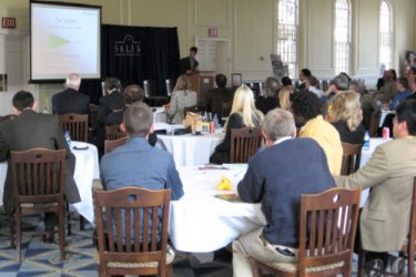 This year's workshop took place at Salem College, Winston-Salem, NC