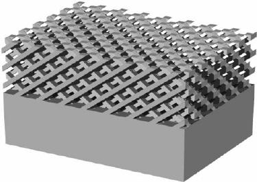 3D photonic crystal