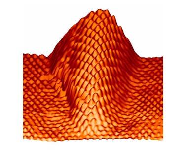 Graphene ridge