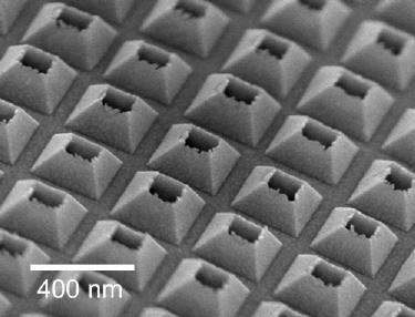 A 3D nanohole array