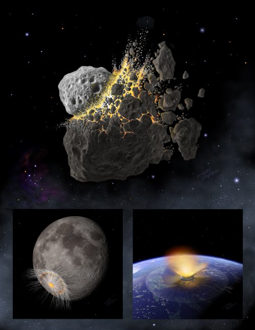 how big was dinosaur asteroid - photo #18