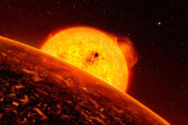 法国的CoRoT太空望远镜发现了第一颗岩石构成的地外行星