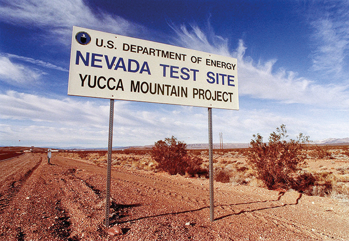 Review Breathes Life Into Yucca Mountain Nuclear Waste