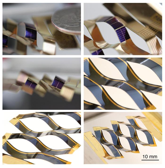 Kirigami Solar Cells Follow The Sun Physicsworld Com