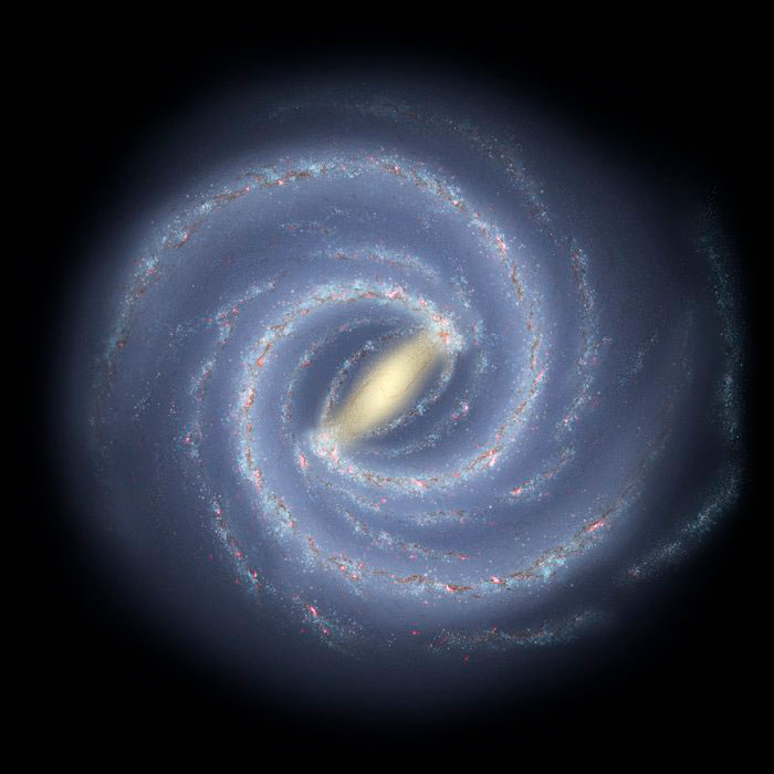 Supermassive black hole discovered near heart of the Milky Way