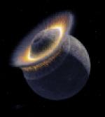 Giant impact on Pluto