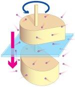 Brownian motor and refrigerator