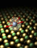 Single-atom magnet
