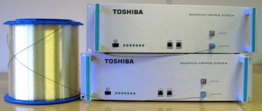 Toshiba's QKD system
