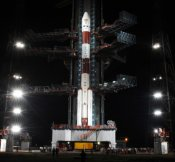 Chandrayaan-1 on the launchpad