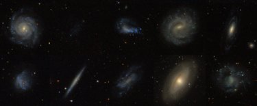 Different but similar? A selection of galaxies from the survey