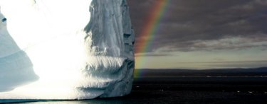 Iceberg in Scoresby Sound, Greenland