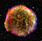 The remnant of Brahe's supernova