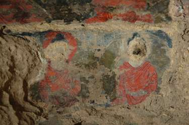 Afghan cave murals