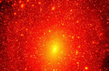 Dark-matter simulation