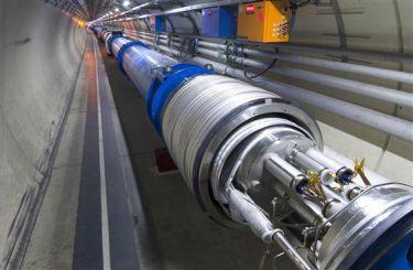 LHC setback