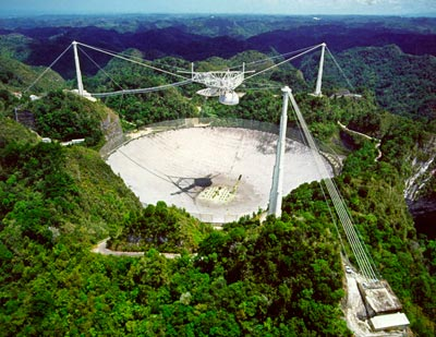 The Arecibo Observatory has spied superluminal pulses