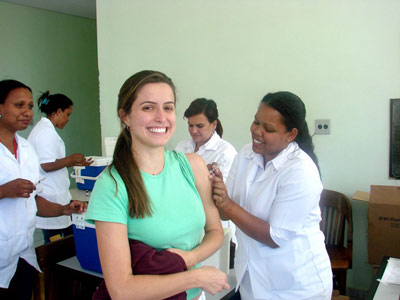 <b>Rubella vaccination in Brazil</b>: timing is crucial if vaccine is in short supply