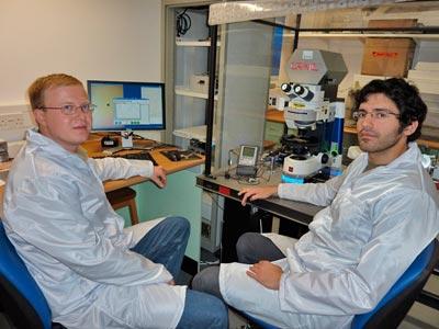 Southampton researchers at work