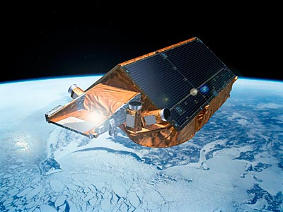 CryoSat-2 will measure changes in sea-ice levels