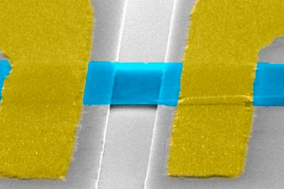 Graphene bridges a thermal gap