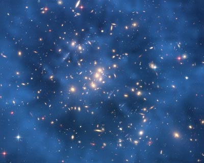 Astronomers are still trying to find the elusive dark-matter particle