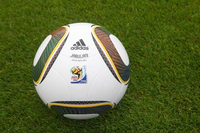 The Adidas Jabulani is the official ball of the FIFA World cup