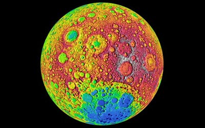 The far side of the Moon. (Courtesy: NASA/Goddard)