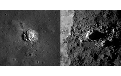 Counting craters and boulders. (Courtesy: NASA/Goddard/Arizona State University)