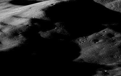 Mountains on the Moon. (Courtesy: NASA/Goddard/Arizona State University)