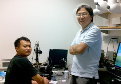 Xiangfeng Duan and colleague