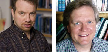 Adam Riess and Brian Schmidt