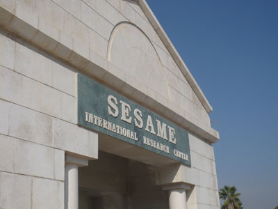 The front of the SESAME building