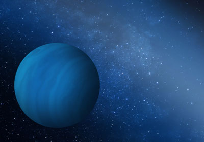 An artist's impression of the gas giant
