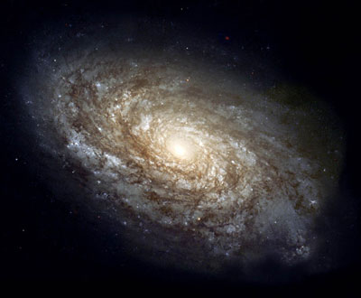 Hubble image of the NGC 4414 galaxy