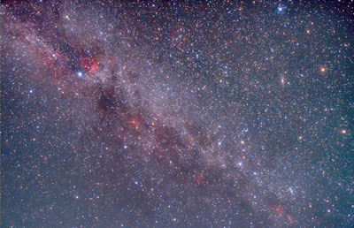 Image of the northern Milky Way