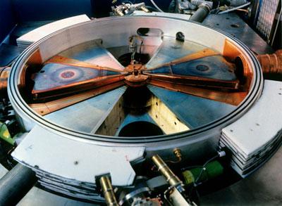 Photo of a medical cyclotron