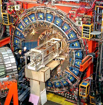 Photo of Tevatron's CDF experiment