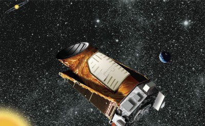 Artist's impression of the Kepler space telescope