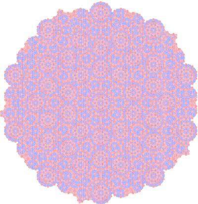 Quasi-periodic pattern