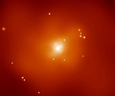X-ray image of NGC 720