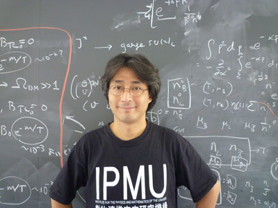 Photograph of Hitoshi Murayama, director of the Kavli Institute for the Physics and Mathematics of the Universe at the University of Tokyo
